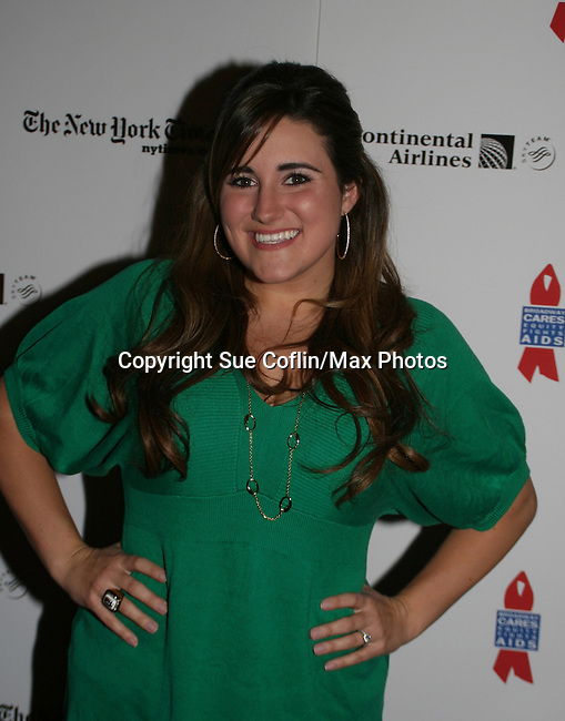 High School's Musical - KayCee Stroh at 22nd Annual Broadway Flea Market & Grand Auction to benefit Broadway Cares/Equity Fights Aids on Sunday, September 21, 2008 in Shubert Alley, New York City, New York. (Photo by Sue Coflin/Max Photos)