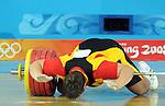 Olympia 2008, Gewichtheben Maenner Klasse ueber 105 Kilogramm Finale, Matthias STEINER