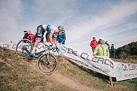 race winner Mathieu van der Poel (NED/Corendon-Circus)<br /> <br /> Elite Men's race<br /> GP Mario De Clercq / Hotond cross 2018 (Ronse, BEL)