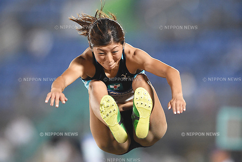 Chie Kiriyama, <br /> JULY 25, 2015 - Athletics : <br /> All Star Night Track &amp; Field <br /> Women's Long Jump <br /> at Shonan BMW Stadium Hiratsuka, Kanagawa, Japan. <br /> (Photo by AFLO SPORT)