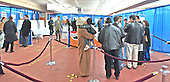 New Carrollton, MD - January 29, 2005 -- Wide view from behind the voters of the polling place in New Carrollton, Maryland for the Iraqi elections on January 29, 2005..Credit: Ron Sachs / CNP..(RESTRICTION: NO New York or New Jersey Newspapers or newspapers within a 75 mile radius of New York City)