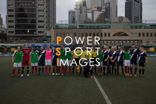 USRC vs HKFC Masters during their Masters Tournament match, part of the HKFC Citi Soccer Sevens 2017 on 26 May 2017 at the Hong Kong Football Club, Hong Kong, China. Photo by Chris Wong / Power Sport Images
