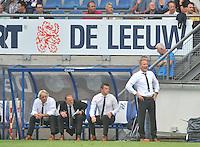VOETBAL: HEERENVEEN, 18-08-2013, SC Heerenveen - Heracles 2-4, Coach Heracles Jan de Jong, ©foto Martin de Jong