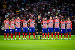 Atletico de Madrid squad pose for team photo during the La Liga  2018-19 match between Atletico de Madrid and SD Huesca at Wanda Metropolitano Stadium on September 25 2018 in Madrid, Spain. Photo by Diego Souto / Power Sport Images