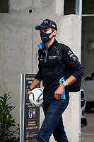 18th July 2020, Hungaroring, Budapest, Hungary; F1 Grand Prix of Hungary,  qualifying sessions;  63 George Russell GBR, Williams Racing arrives at the track in Budapest Hungary