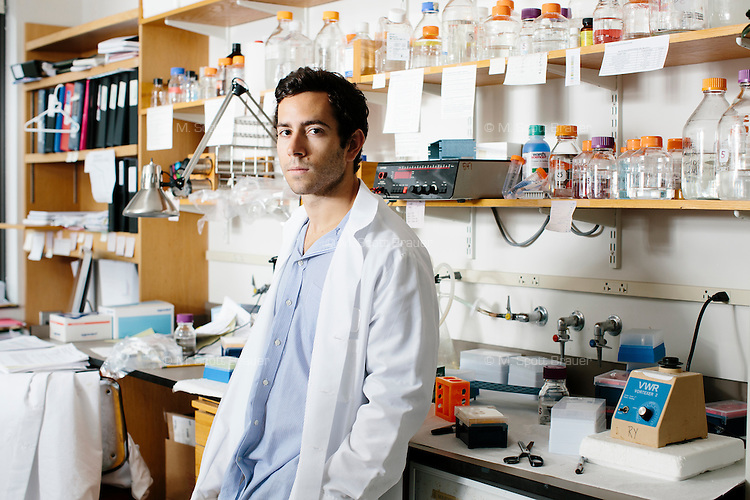 Abraham Selby Weintraub is a grad student in MIT's Department of Biology in Cambridge, Massachusetts, USA. He is part of the Young Lab at the Whitehead Institute for Biomedical Research where he studies the role of three dimensional genome structure in the control of gene expression.