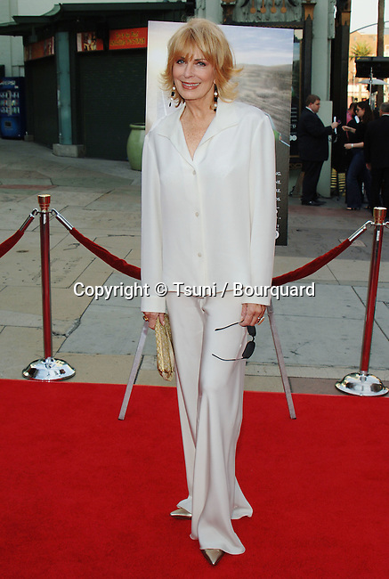 Joanna Cassidy arriving at the Six Feet Under 5th and Final Season at the Chinese Theatre in Los Angeles. May 17, 2005.