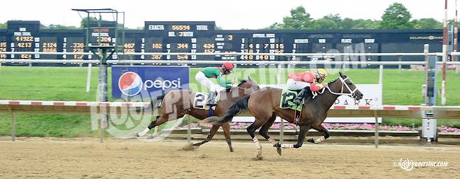 winning at Delaware Park racetrack on 6/26/14