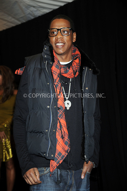 WWW.ACEPIXS.COM . . . . . ....January 7 2009, New York City....Rapper Jay-Z arriving at the premiere of 'Notorious' at the AMC Lincoln Square on January 7, 2009 in New York City.....Please byline: KRISTIN CALLAHAN - ACEPIXS.COM.. . . . . . ..Ace Pictures, Inc:  ..tel: (212) 243 8787 or (646) 769 0430..e-mail: info@acepixs.com..web: http://www.acepixs.com