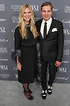 Kristina O'Neill, Editor in Chief, WSJ. Magazine and Anthony Cenname, Publisher, arrive at the WSJ. Magazine 2017 Innovator Awards at The Museum of Modern Art in New York City, on November 1, 2017.
