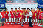 The China team poses with their medalsafter Day 2 of the Shanghai Sevens - part of the HSBC Asian Sevens Series - at the Yuanshen Stadium on August 28, 2011 in Shanghai, China. Photo  © Raf Sanchez / The Power of Sport Images for Societe Generale