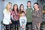 Rachel O&rsquo;Sullivan from Tralee, celebrating her 21st Birthday in Bella Bia on Saturday night. <br />  L-r, Emma O&rsquo;Connor, Eileen Whelan, Rachel O&rsquo;Sullivan, Ryan McCord, Sean Porter and Kerrie McCord.