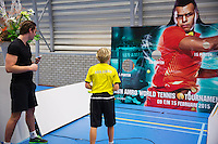 December 17, 2014, Rotterdam, Topsport Centrum, Ballkid selection, ABNAMROWTT<br /> Photo: Tennisimages/Henk Koster