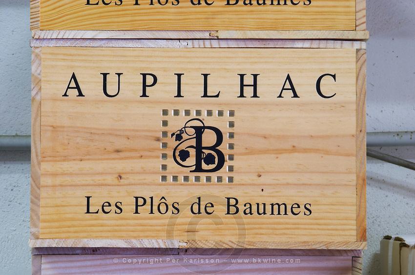 Les Plos de Baumes. Domaine d'Aupilhac. Montpeyroux. Languedoc. France. Europe.