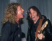 Robert Plant and Neil Young Undated<br /> Photo By John Barrett/PHOTOlink