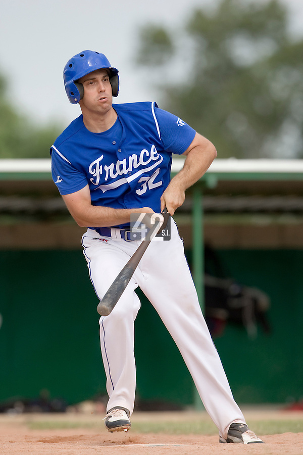 BASEBALL - GREEN ROLLER PARK - PRAGUE (CZECH REPUBLIC) - 27/06/2008 - PHOTO: CHRISTOPHE ELISE.SEBASTIEN BOYER (TEAM FRANCE)
