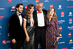 Marc Clotet, Aina Clotet and doctor Clotet attends to the photocall of the Gala Sida at Palacio de Cibeles in Madrid. November 21, 2016. (ALTERPHOTOS/Borja B.Hojas)
