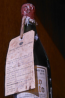 old bottle with wax seal reserva 1979 adega cooperativa de borba alentejo portugal