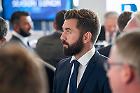 Picture By Allan McKenzie/SWpix.com - 06/04/18 - Cricket - Yorkshrie County Cricket Club Opening Season Lunch 2018 - Emerald Headingley Stadium, Leeds, England - Liam Plunkett at the opening season lunch.
