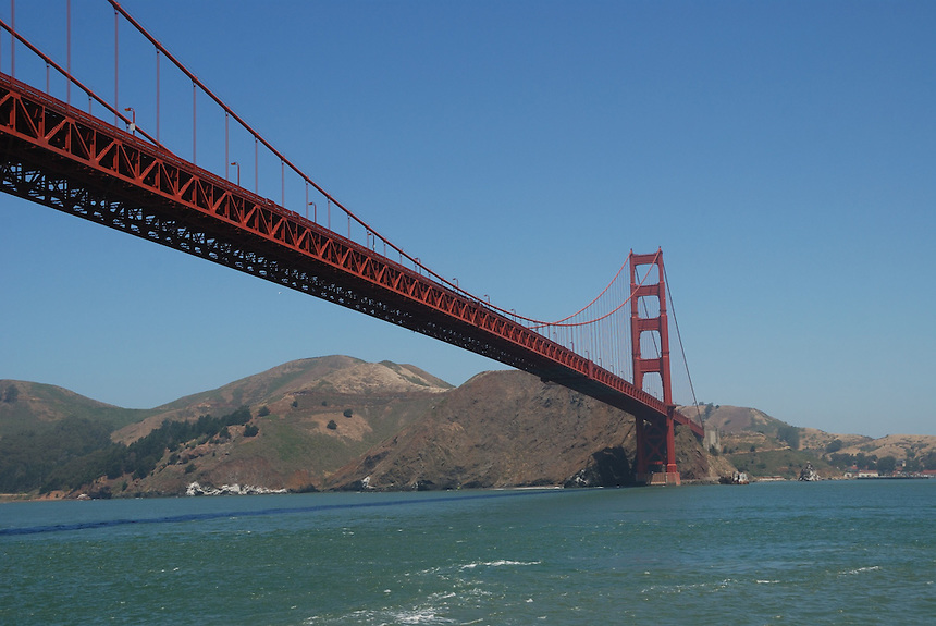 Golden Gate Bridge, San Francisco. Ernie Mastroianni photo