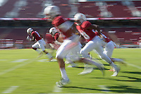 Stanford, Ca - Saturday, November 5, 2016: The Stanford football team defeats Oregon State 26-15 at Stanford Stadium.