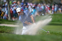 Rory McIlroy (NIR) hits from the trap on 6 during round 4 of the Arnold Palmer Invitational at Bay Hill Golf Club, Bay Hill, Florida. 3/10/2019.<br /> Picture: Golffile | Ken Murray<br /> <br /> <br /> All photo usage must carry mandatory copyright credit (© Golffile | Ken Murray)