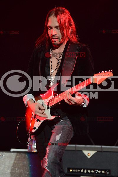 MIAMI, FL - MAY 11:  Sergio Valli.n of Mana performs at the AmericanAirlines Arena on May 11, 2012 in Miami Florida. © mpi04/MediaPunch Inc