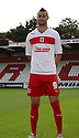 Marcus Haber of Stevenage. Stevenage FC photoshoot -  Lamex Stadium, Stevenage . - 16th August, 2012. © Kevin Coleman 2012