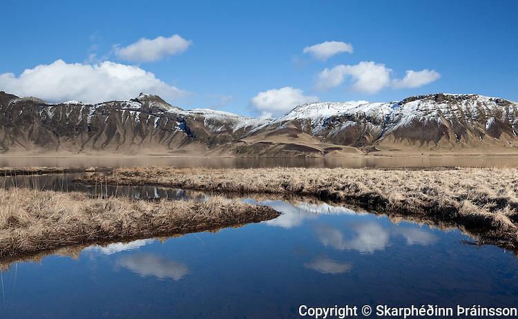 Heiðarvatn in Mýrdalur, south Iceland