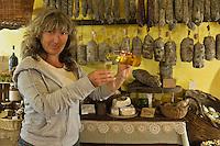 Europe/France/2B/Haute Corse/Balagne/Pigna: Dominique Giuntini, épicerie fine, produits régionnaux: Casa Savelli [Non destiné à un usage publicitaire - Not intended for an advertising use]