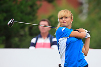 Ludovica Farina (AM)(ITA) on the 2nd tee during Round 2 of the Ricoh Women's British Open at Royal Lytham &amp; St. Annes on Friday 3rd August 2018.<br /> Picture:  Thos Caffrey / Golffile<br /> <br /> All photo usage must carry mandatory copyright credit (&copy; Golffile | Thos Caffrey)