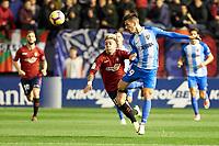 Brandon (forward; CA Osasuna) during the Spanish football of La Liga 123, match between CA Osasuna and Málaga CF at the Sadar stadium, in Pamplona (Navarra), Spain, on Saturday, November 3, 2018.