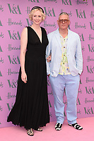 Gwendoline Christie &amp; Giles Deacon arriving for the Victoria and Albert Museum Summer Party 2018, London, UK. <br /> 20 June  2018<br /> Picture: Steve Vas/Featureflash/SilverHub 0208 004 5359 sales@silverhubmedia.com