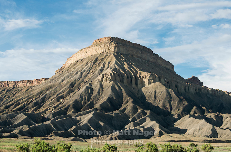 Landscape near Grand Junction, Colorado, Sunday, July 5, 2015. <br /> Photo by Matt Nager