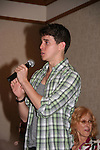 Daniel Kennedy who studied at Julliard sings for all an opera piece at the All My Children Fan Luncheon on September 13, 2009 at the New York Helmsley Hotel, NYC, NY. (Photo by Sue Coflin/Max Photos)