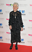 Dame Jacqueline Wilson at the Battersea Dogs &amp; Cats Home Collars &amp; Coats Gala Ball 2018, Battersea Evolution, Battersea Park, London, England, UK, on Thursday 01 November 2018.<br /> CAP/CAN<br /> &copy;CAN/Capital Pictures