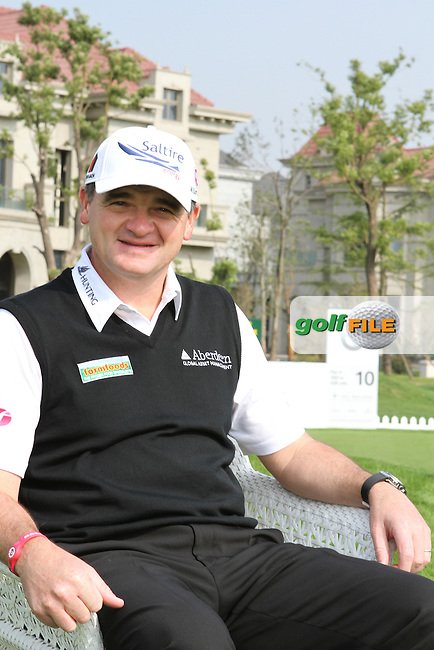 Paul Lawrie (SCO) on Wednesdays ProAm Day ahead of the BMW Masters 2012 at Lake Malaren Golf Club, Shanghai, China, Tuesday 24/10/12...(Photo Jenny Matthews/www.golffile.ie)