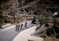 breakaway group with Sander Armée (BEL/Lotto-Soudal) leading<br /> <br /> Stage 2: Benidorm to Calpe (199.6km)<br /> La Vuelta 2019<br /> <br /> ©kramon
