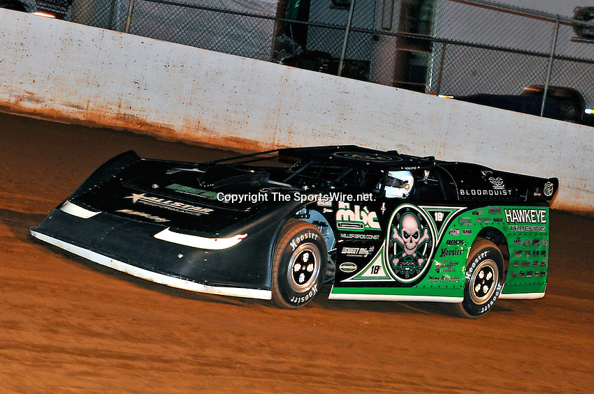 Oct 15, 2010; 7:14:43 PM;Mineral Wells,WV ., USA; The 30th Annual Dirt Track World Championship dirt late models 50,000-to-win event at the West Virginia Motor Speedway.  Mandatory Credit: (thesportswire.net)
