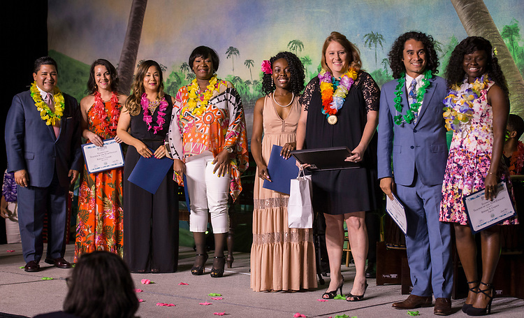 Educator of the Year celebration, May 19, 2017.