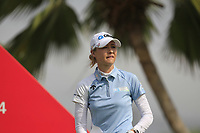 Nelly Korda (USA) in action on the 12th during Round 1 of the HSBC Womens Champions 2018 at Sentosa Golf Club on the Thursday 1st March 2018.<br /> Picture:  Thos Caffrey / www.golffile.ie<br /> <br /> All photo usage must carry mandatory copyright credit (&copy; Golffile | Thos Caffrey)