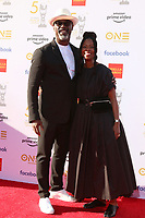 LOS ANGELES - MAR 30:  Isaiah Washington, wife at the 50th NAACP Image Awards - Arrivals at the Dolby Theater on March 30, 2019 in Los Angeles, CA