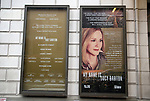 """Theatre Marquee for Laura Linney returning to Broadway in a haunting new solo play, """"My Name Is Lucy Barton"""", adapted by Rona Munro from the bestselling novel by Pulitzer Prize winner Elizabeth Strout at the Samuel J. Friedman Theatre on January 13, 2019 in New York City."""