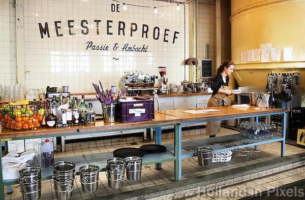 Nederland Nijmegen 2016. Restaurant de Meesterproef op het oude Honig complex aan de Waal. Foto Berlinda van Dam / Hollandse Hoogte