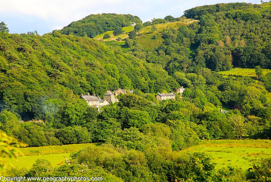 Village of Maentwrog, near Blaenau Ffestiniog, Gwynedd, north west Wales, UK