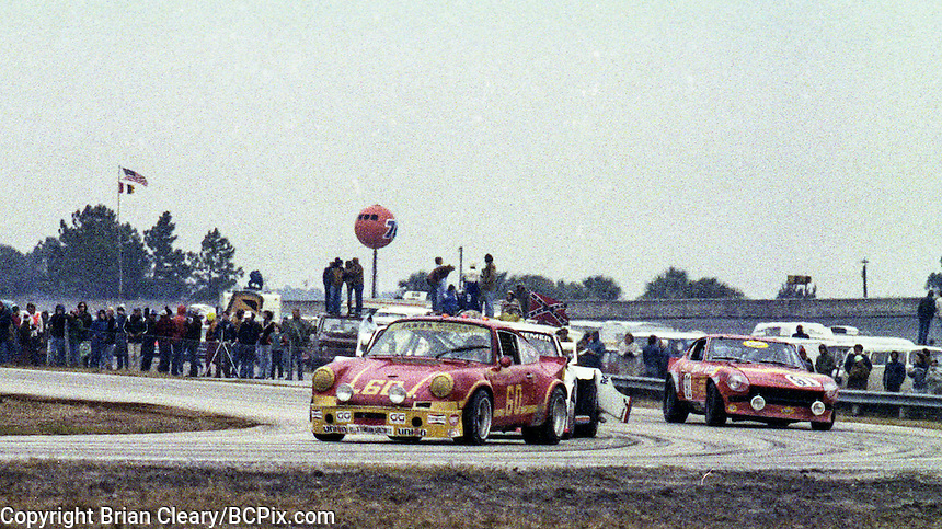 #60 Porsche of John Thomas, Ren Tilton, and Rusty Bond 1978 24 Hours of Daytona, Daytona International Speedway, Daytona Beach, FL, February 5, 1978.  (Photo by Brian Cleary/www.bcpix.com)