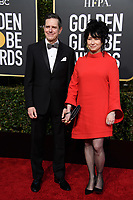 Daniel Palladino and Daniel Palladino arrive at the 76th Annual Golden Globe Awards at the Beverly Hilton in Beverly Hills, CA on Sunday, January 6, 2019.<br /> *Editorial Use Only*<br /> CAP/PLF/HFPA<br /> Image supplied by Capital Pictures