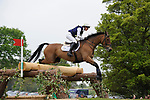 6th May 2017, Willa Newton riding Chance Remark during the Cross Country phase of the 2017 Mitsubishi Motors Badminton Horse Trials, Badminton House, Bristol, United Kingdom. Jonathan Clarke/JPC Images