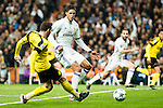 Real Madrid's Raphael Varane  during Champions League match between Real Madrid and Borussia Dortmund  at Santiago Bernabeu Stadium in Madrid , Spain. December 07, 2016. (ALTERPHOTOS/Rodrigo Jimenez)