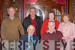 SENIOR CITIZENS: Having fun at the Castleisland Senior Citizens party in the River Island Hotel, Castleisland, on Saturday was front l-r: Michael McAuliffe and Pat McMahon. Back l-r: Nicholas Kerins, Jerry Horan, Mary Horan and Marie McMahon, all Castleisland.   Copyright Kerry's Eye 2008